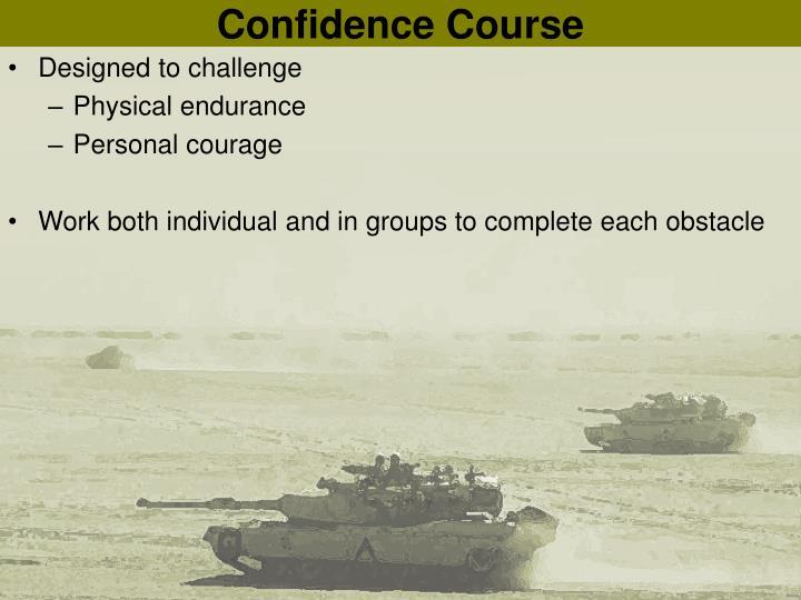 Confidence Course