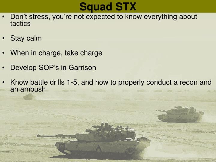 Squad STX