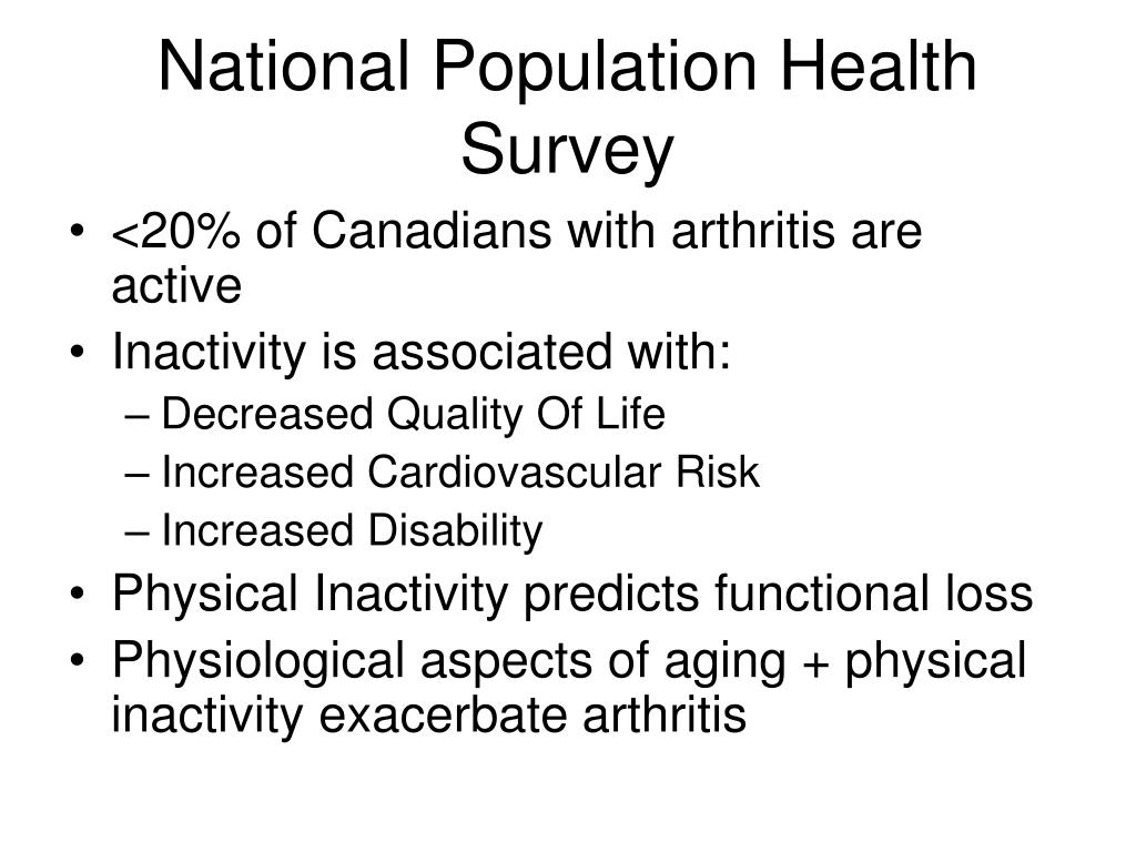 National Population Health Survey