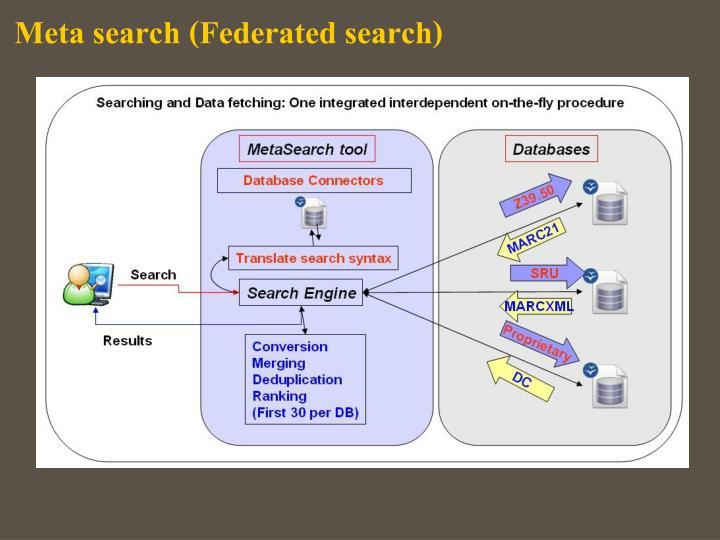 Meta search