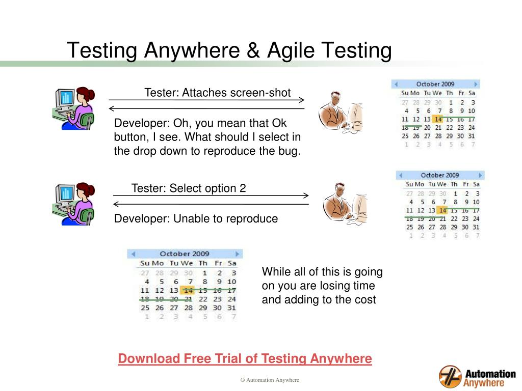 Testing Anywhere & Agile Testing