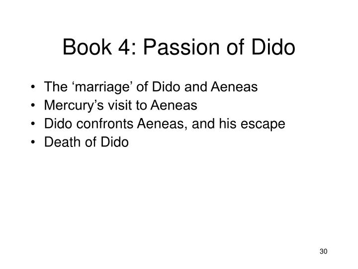 Book 4: Passion of Dido