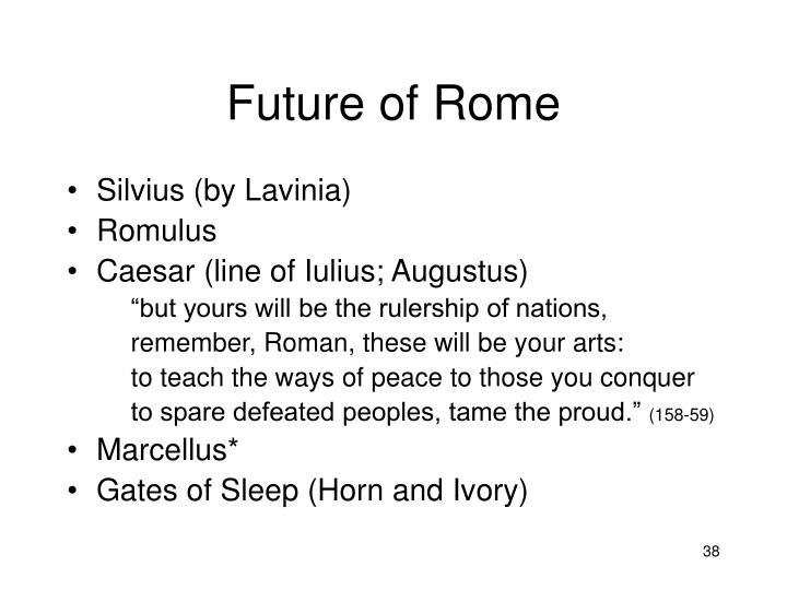 Future of Rome