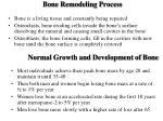 bone remodeling process