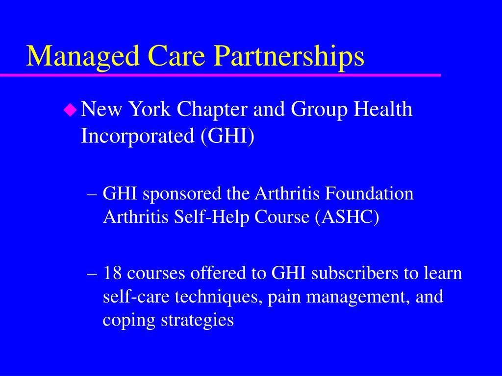 Managed Care Partnerships