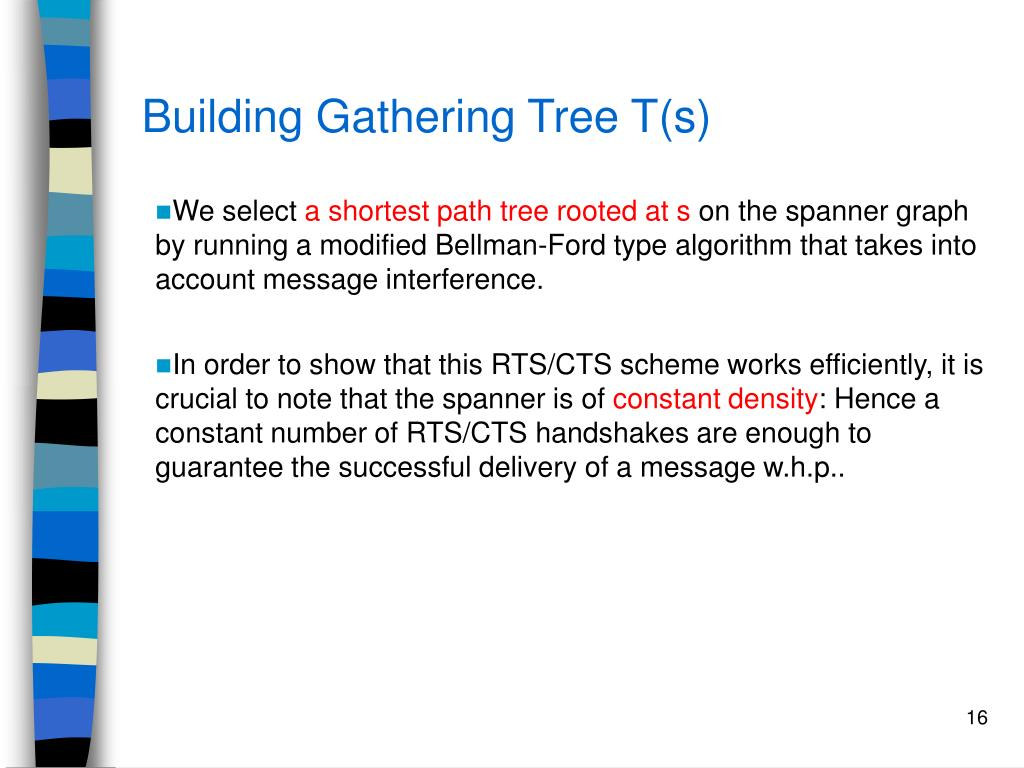 Building Gathering Tree T(s)
