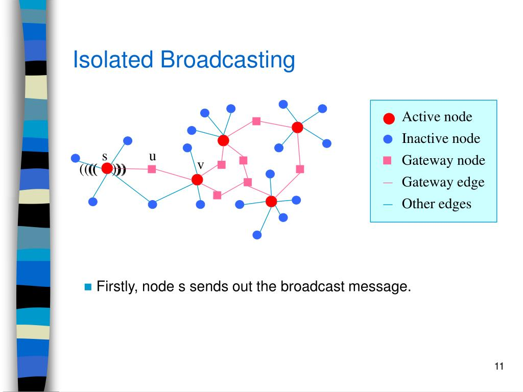 Isolated Broadcasting