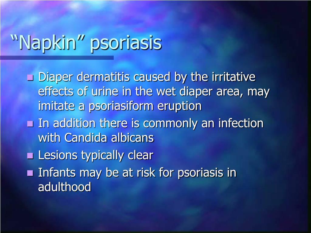 """""""Napkin"""" psoriasis"""