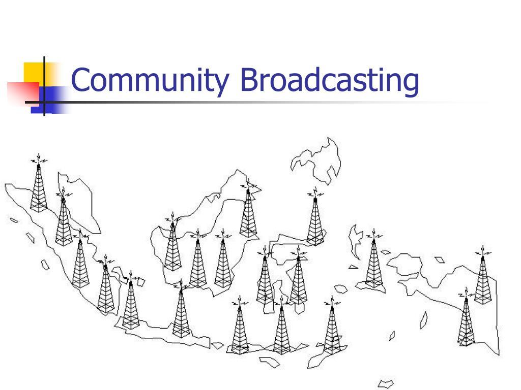 Community Broadcasting
