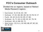 fcc s consumer outreach