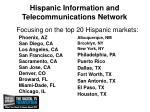 hispanic information and telecommunications network