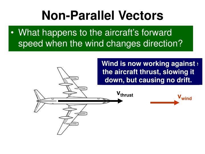 Non-Parallel Vectors