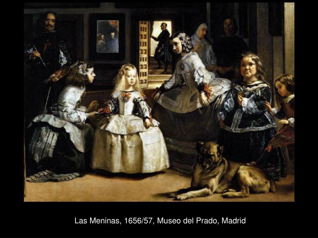 Las Meninas, 1656/57, Museo del Prado, Madrid