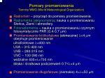 pomiary promieniowania terminy wmo world meteorological organization