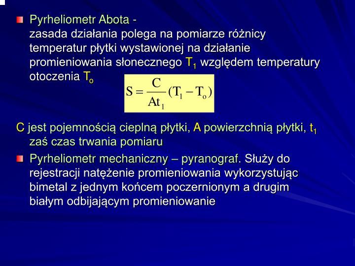 Pyrheliometr Abota