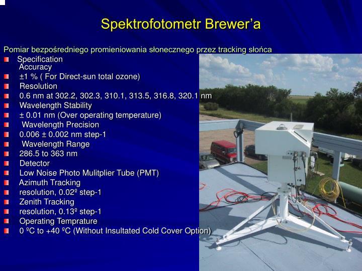 Spektrofotometr Brewer'a