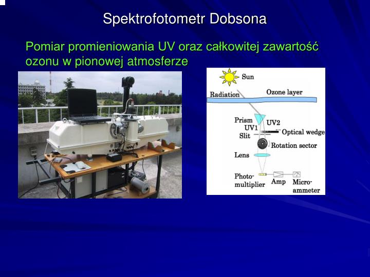 Spektrofotometr Dobsona