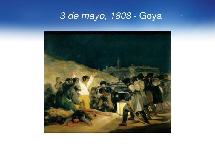 3 de mayo, 1808