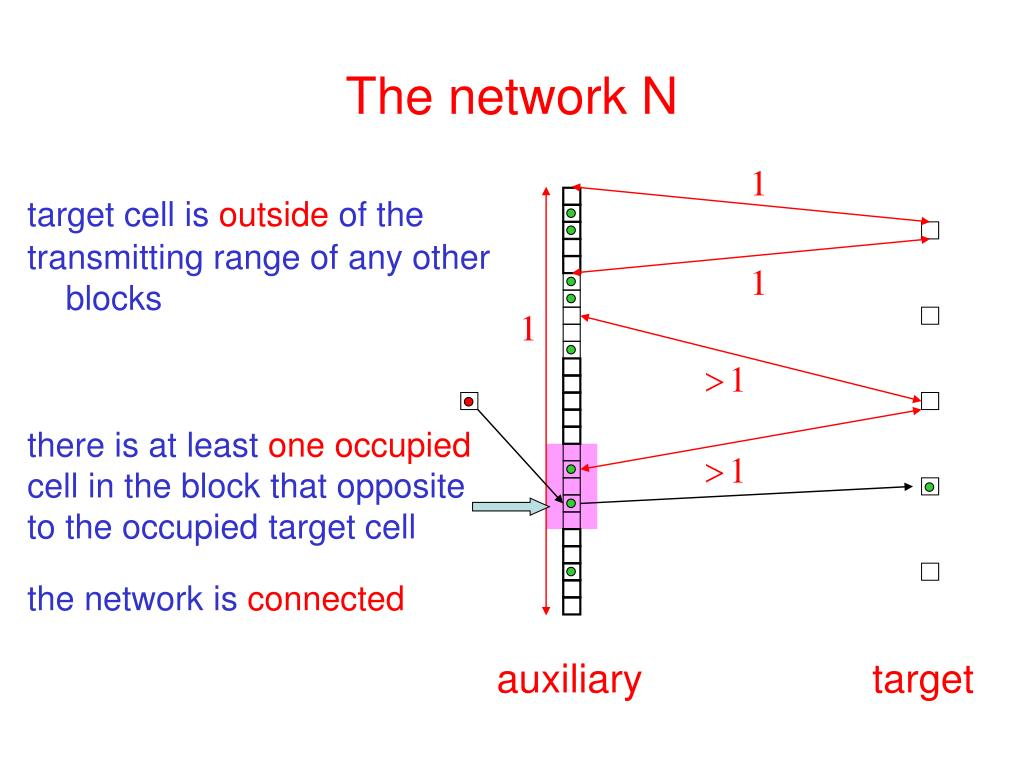 The network N