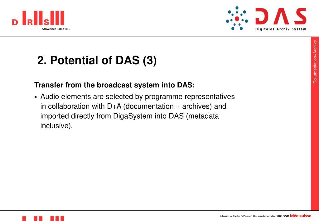 2. Potential of DAS (3)