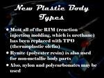 new plastic body types