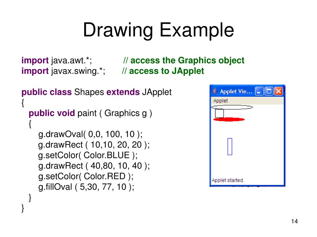 Drawing Example