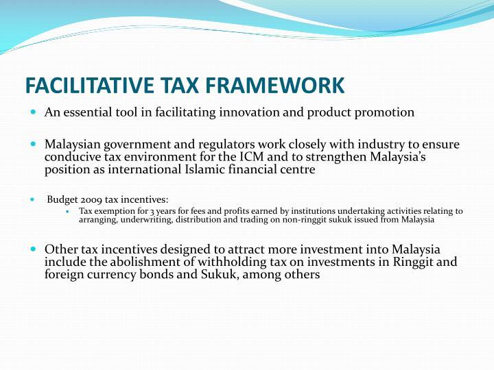 Facilitative tax