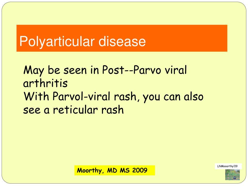 Polyarticular disease