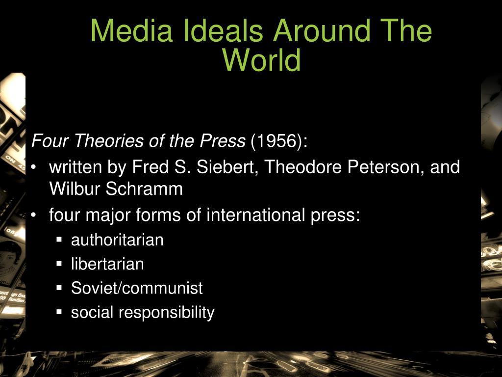 Media Ideals Around The World