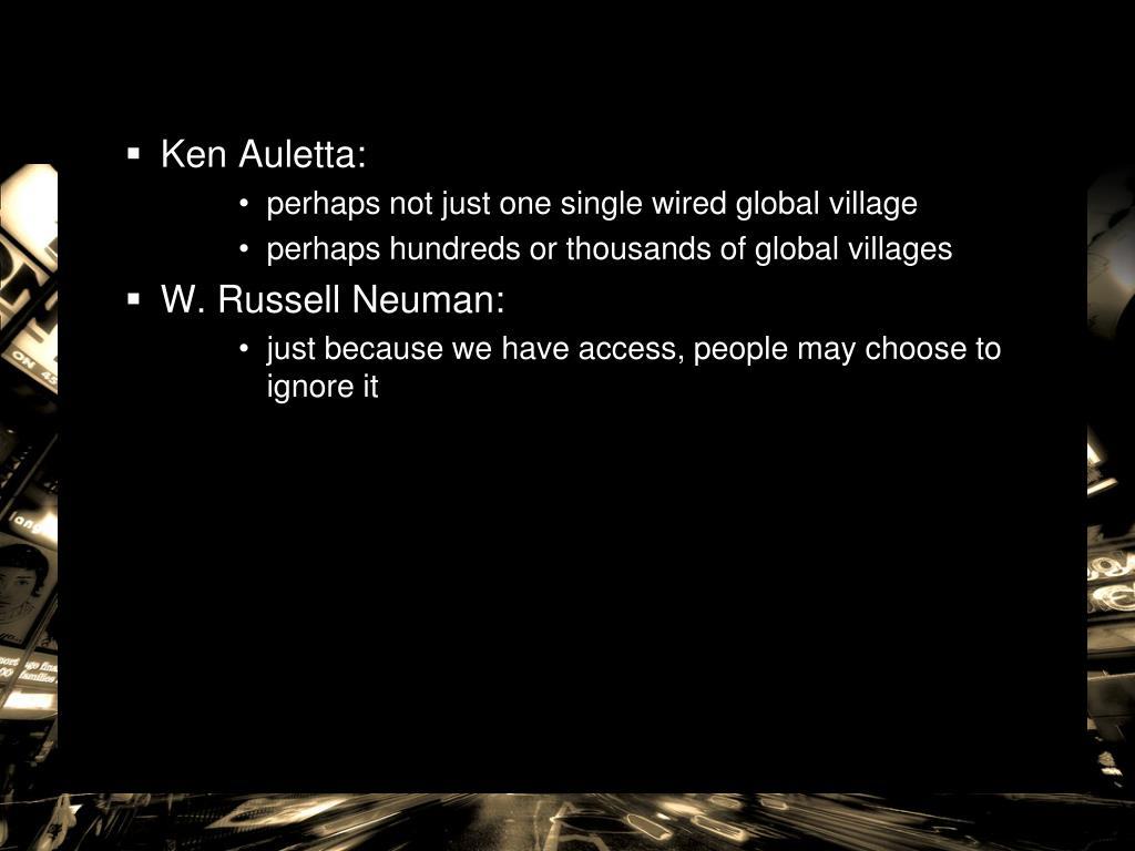 Ken Auletta: