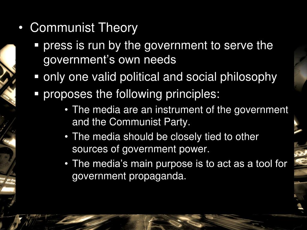 Communist Theory