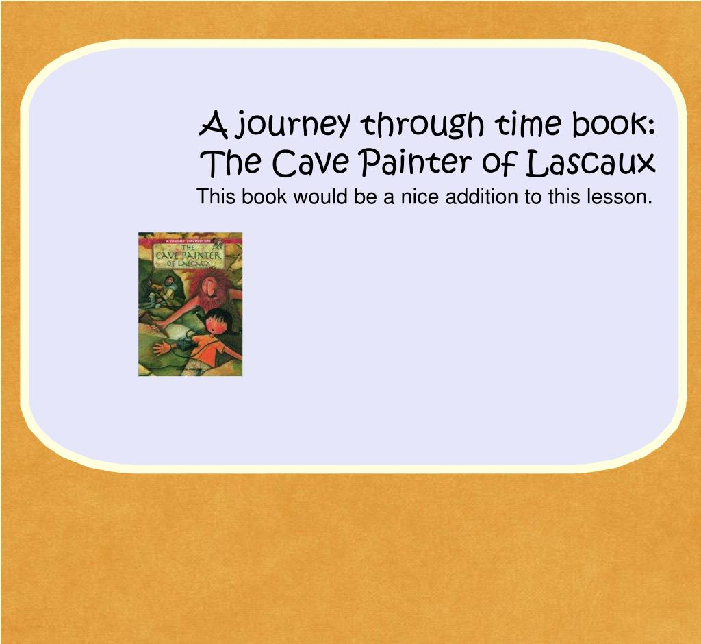 A journey through time book:
