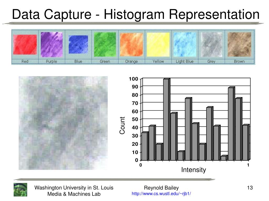 Data Capture - Histogram Representation