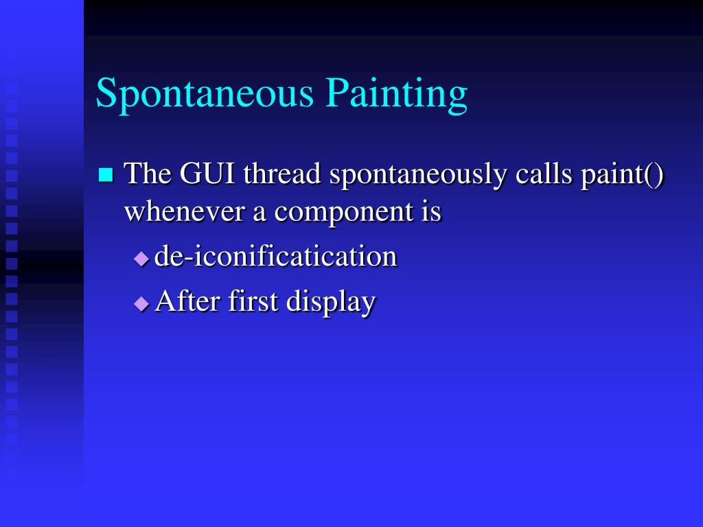 Spontaneous Painting