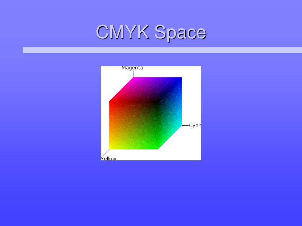 CMYK Space