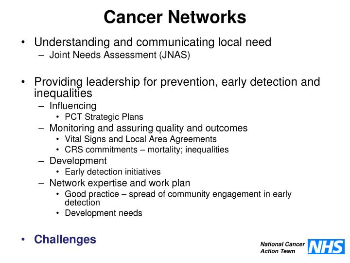 Cancer Networks