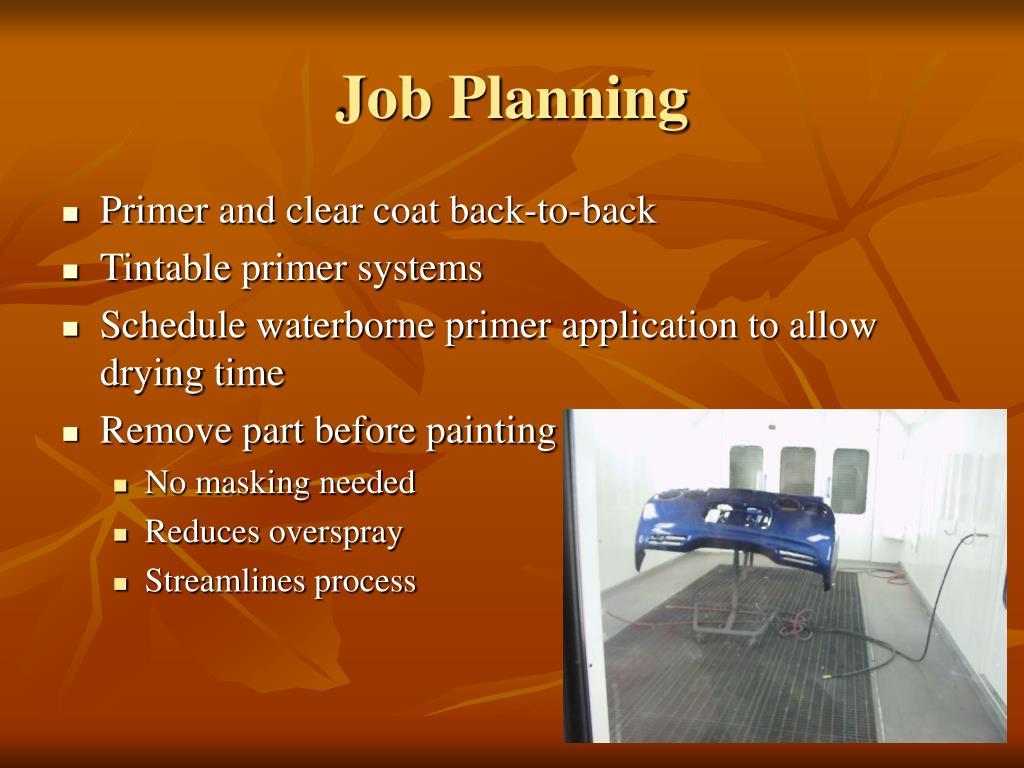 Job Planning