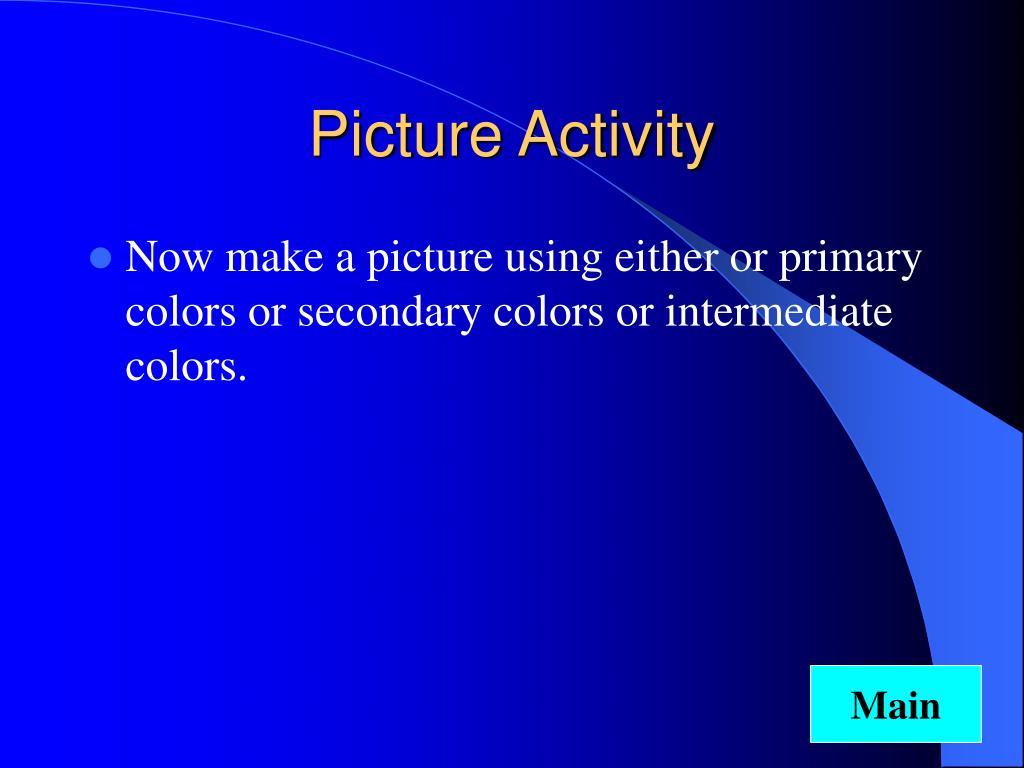 Picture Activity