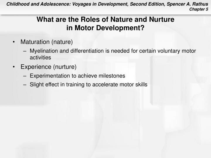 What are the Roles of Nature and Nurture