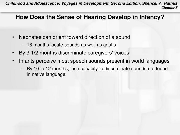 How Does the Sense of Hearing Develop in Infancy?