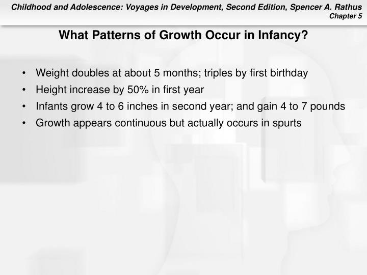 What Patterns of Growth Occur in Infancy?