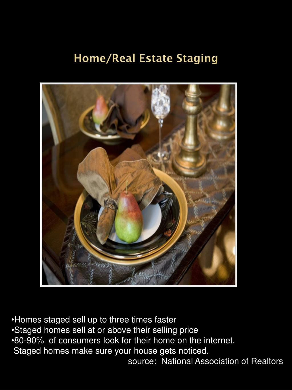 Home/Real Estate Staging
