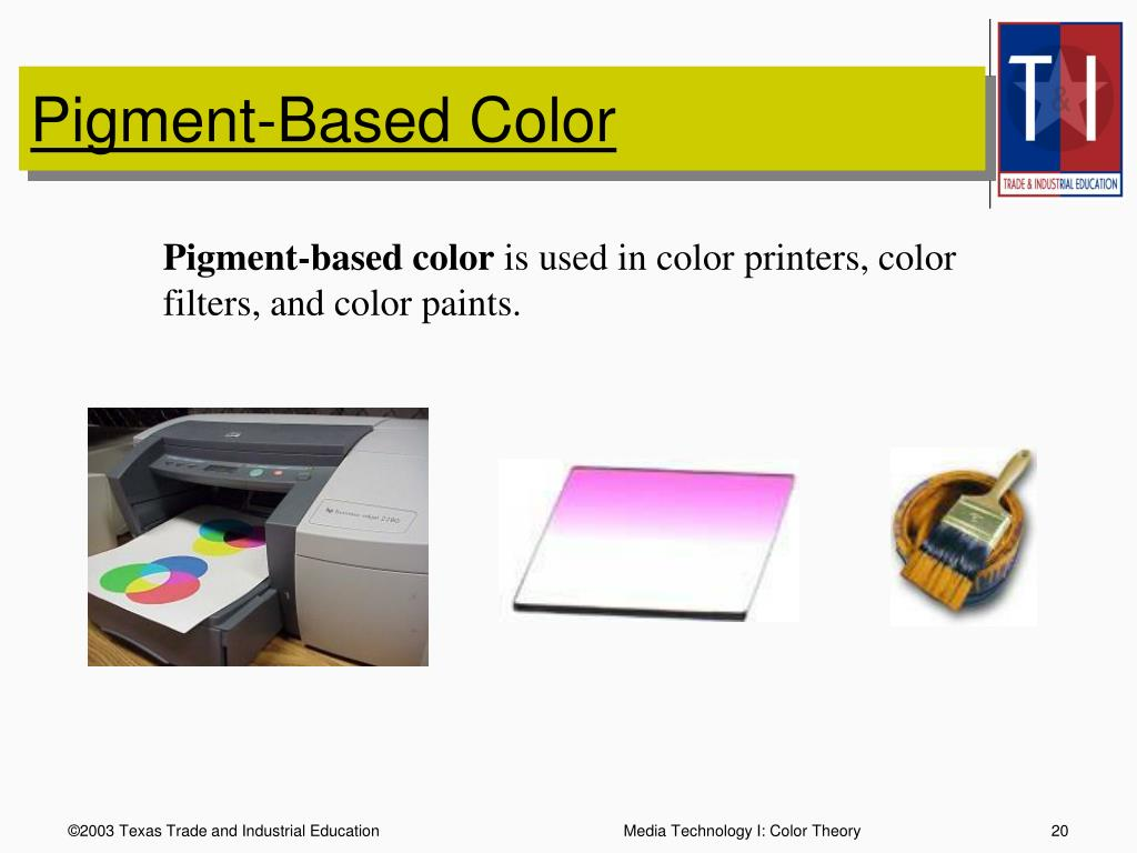 Pigment-Based Color