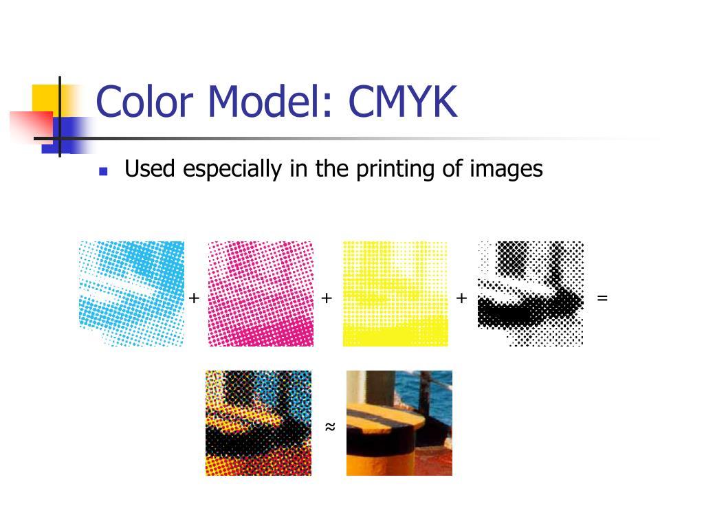 Color Model: CMYK