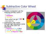 subtractive color wheel13