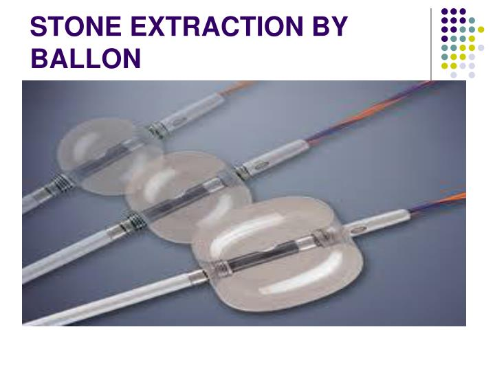 STONE EXTRACTION BY BALLON