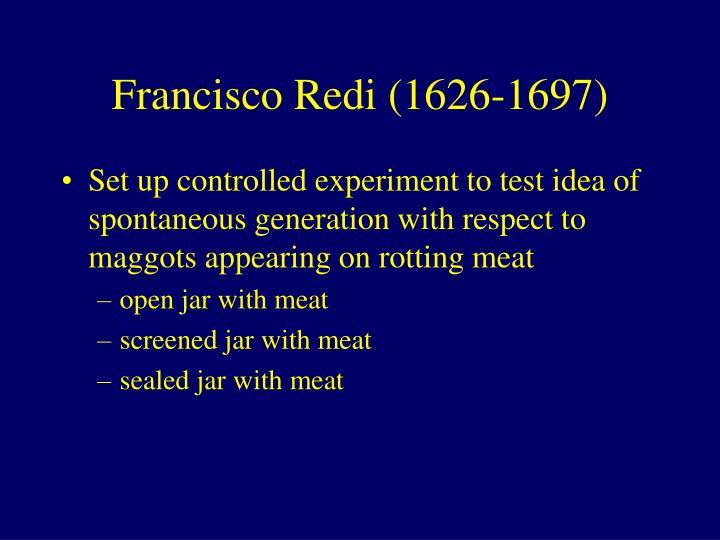 Francisco Redi (1626-1697)