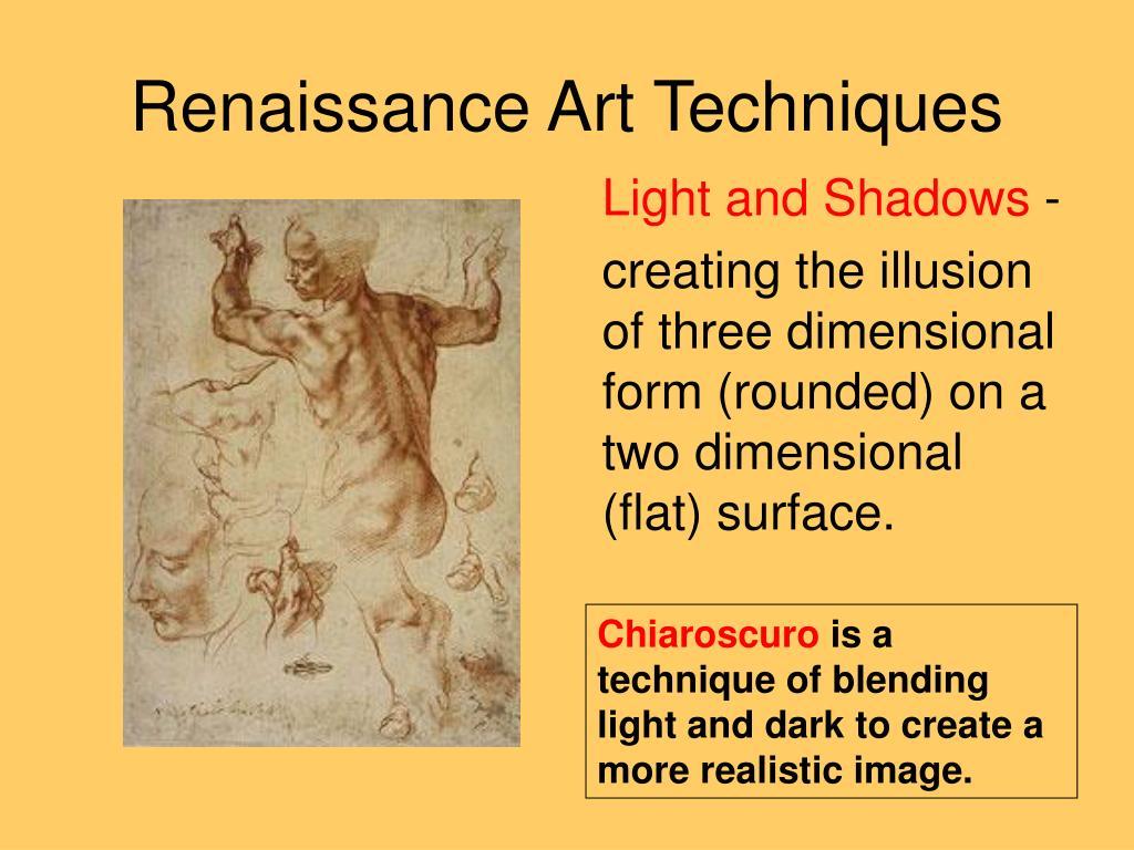 Renaissance Art Techniques