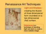 renaissance art techniques4