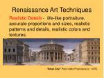 renaissance art techniques5